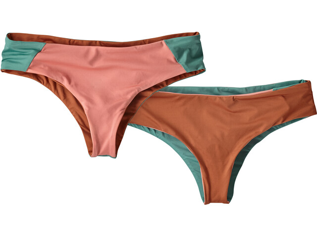 Patagonia Reversible Cutback - Bikini Femme - orange/rose